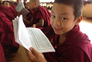 Schule Tibet.de Mönch Patenschaft
