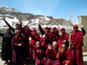 Nonnen Ladakh Wakha Tibet.de
