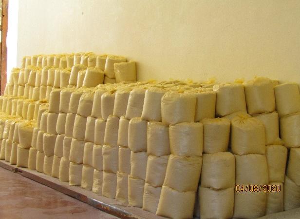 Nonnen Corona Pandemie Essen für die Bevölkerung