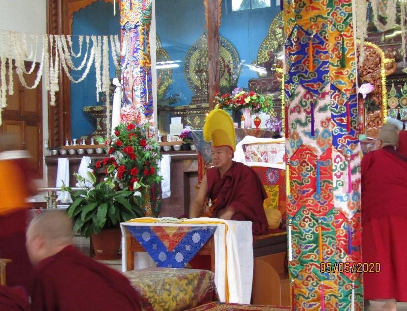 Tibet.de Abt Kloster Mundgod 2020