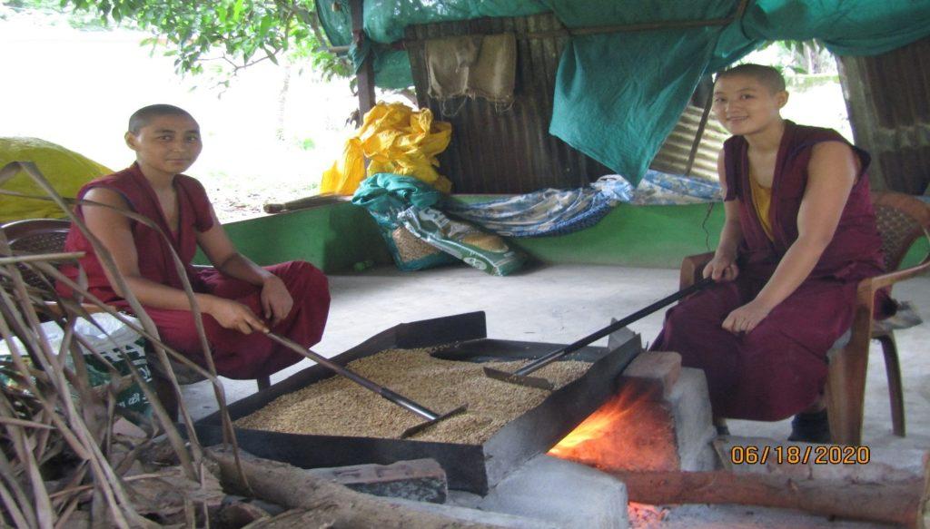 Tibet.de Tsampa Nonnen Corona Hilfe