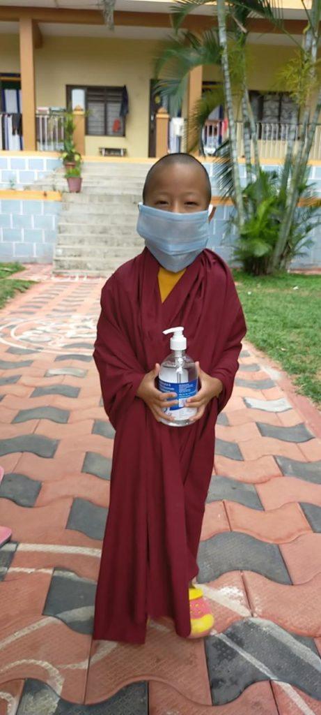 Tibet.de Schule Corona