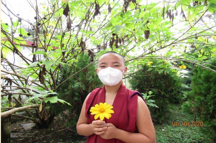 Tibet.de Nonne Zuversicht